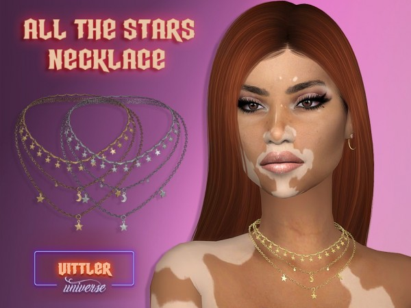 Vittler: All the Stars Necklace