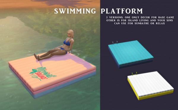 Leo 4 Sims: Swimming Platform
