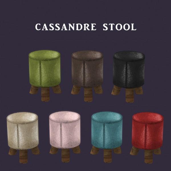 Leo 4 Sims: Cassandre Stool