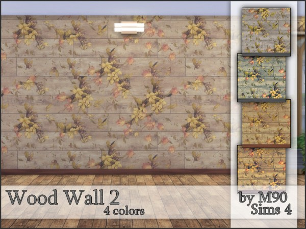The Sims Resource: Wood Wall 2 by Mircia90