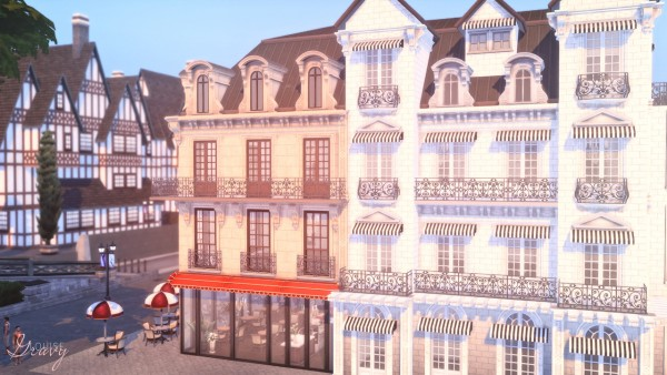 Gravy Sims: Parisian Inspired Cafe