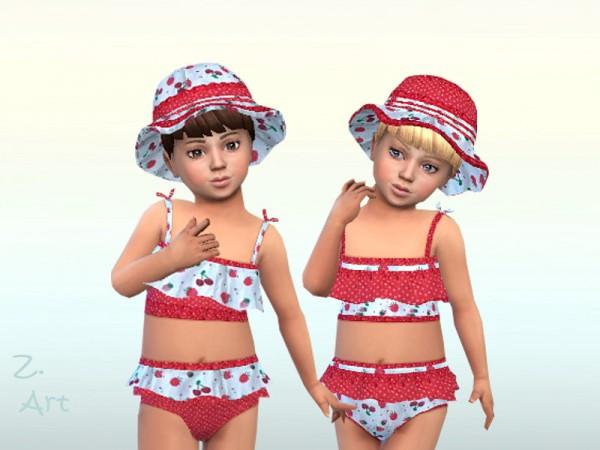 The Sims Resource: Pretty tankini for the beach by Zuckerschnute20