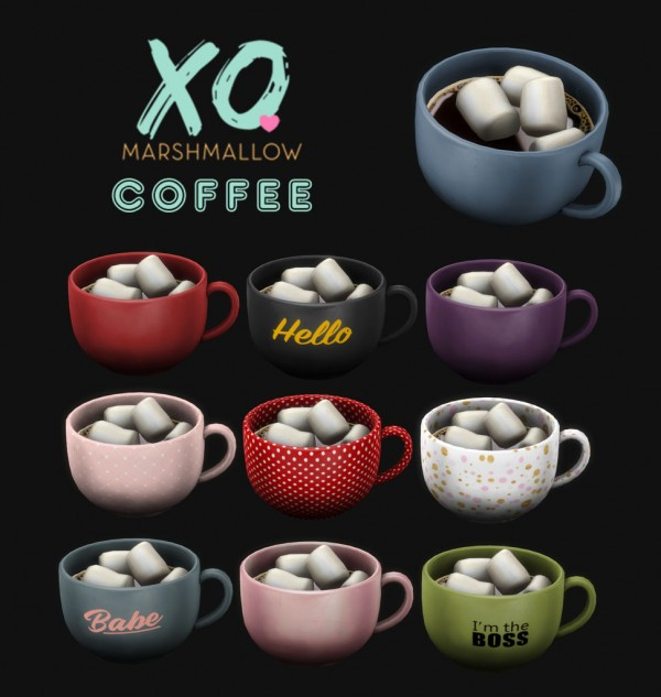 Leo 4 Sims: Marshmallow Coffee