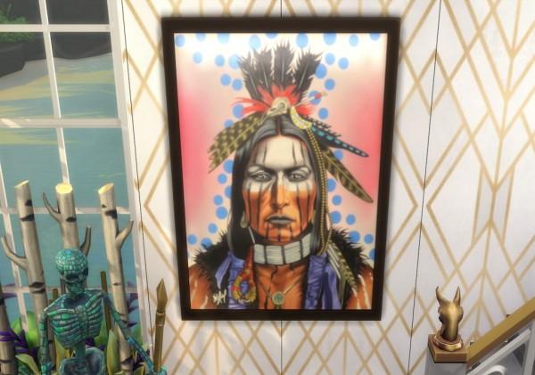 Paradoxxsims: Native Heart paintings