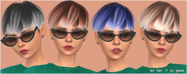 All by Glaza: Hair 17