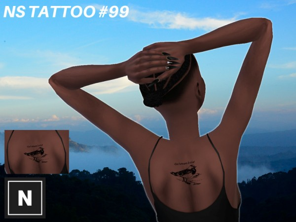 The Sims Resource: Tattoo 99   Bother by networksims