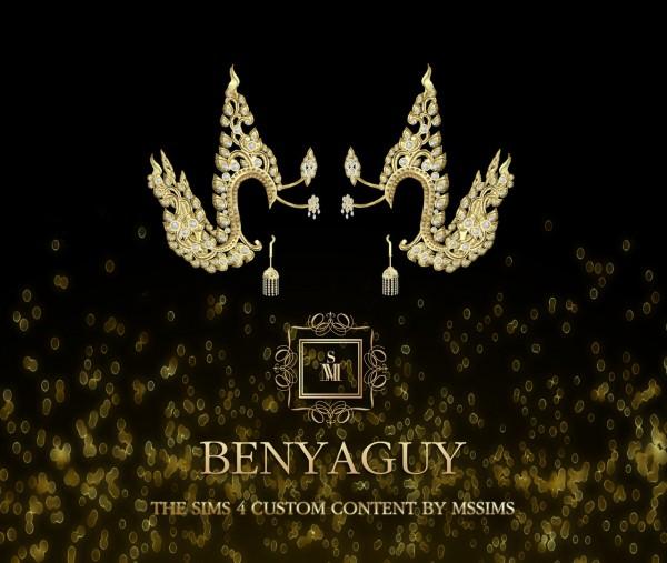 MSSIMS: Benyaguy earrings