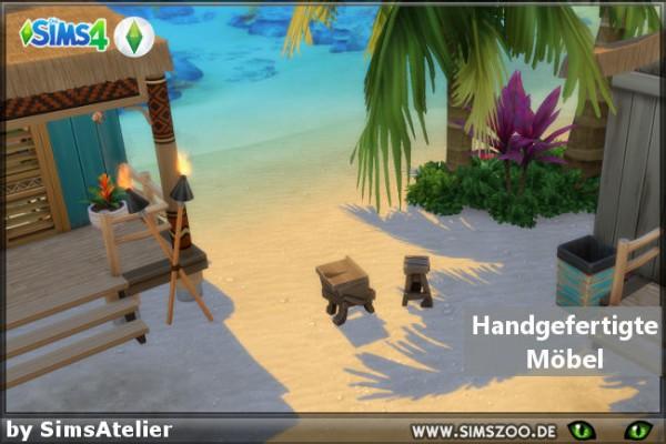 Blackys Sims 4 Zoo: Handmade furniture by SimsAtelier