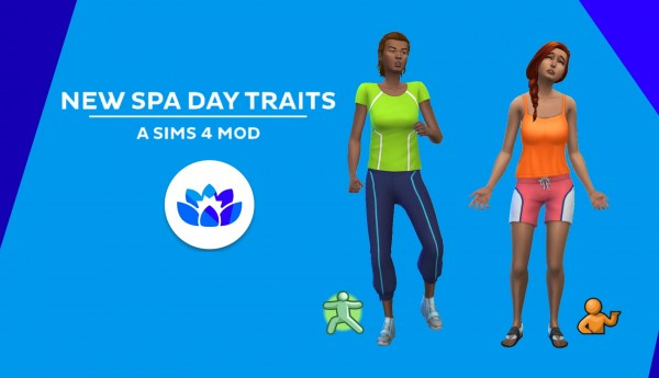 Mod The Sims: New Spa Day Traits by kutto