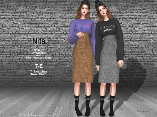 The Sims Resource: NITA   Outfit by Helsoseira