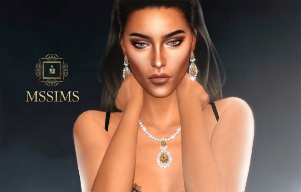 MSSIMS: Luxury necklace