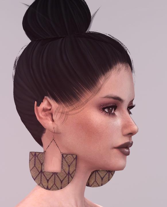 Blooming Rosy: Tribal Dangle Earrings