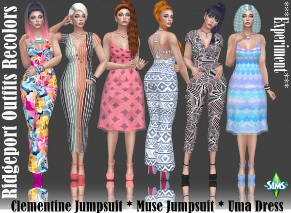 Annett`s Sims 4 Welt: Ridgeport Outfit Recolors