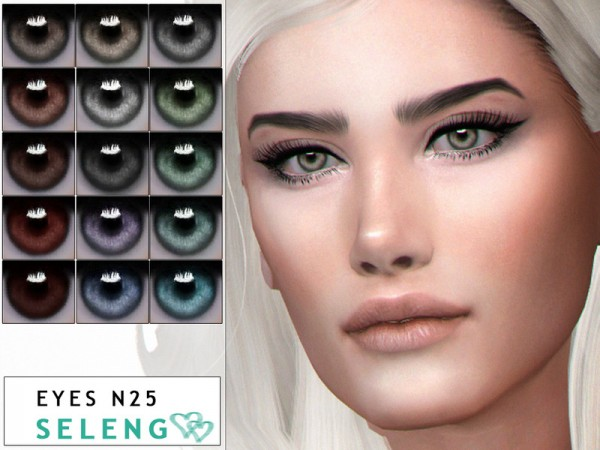 The Sims Resource: Eyes N25 by Seleng