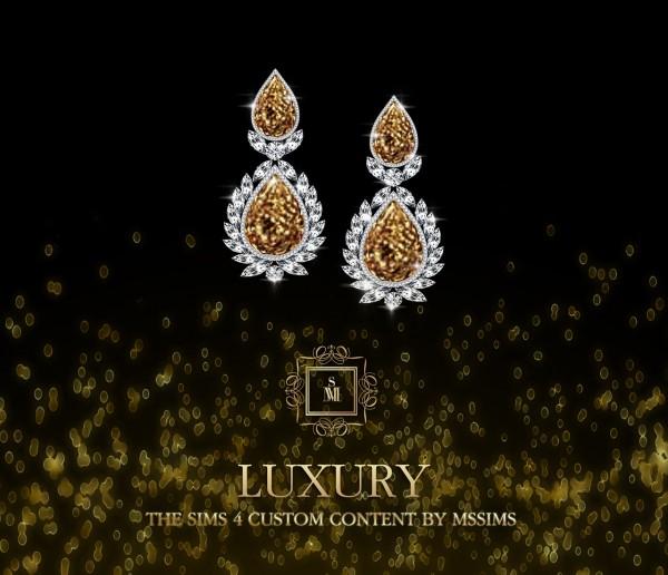 MSSIMS: Luxury earrings