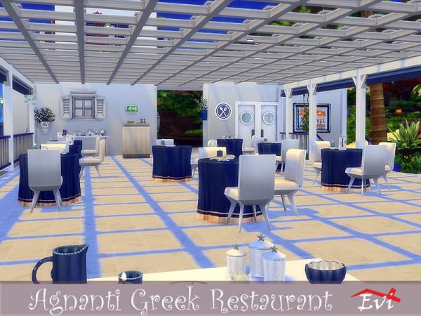 The Sims Resource: Agnati Greek Restaurant by evi
