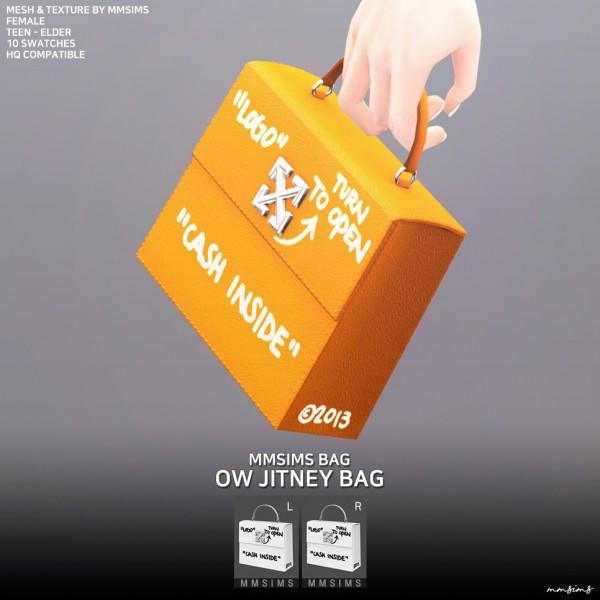 MMSIMS: OW Jitney bag