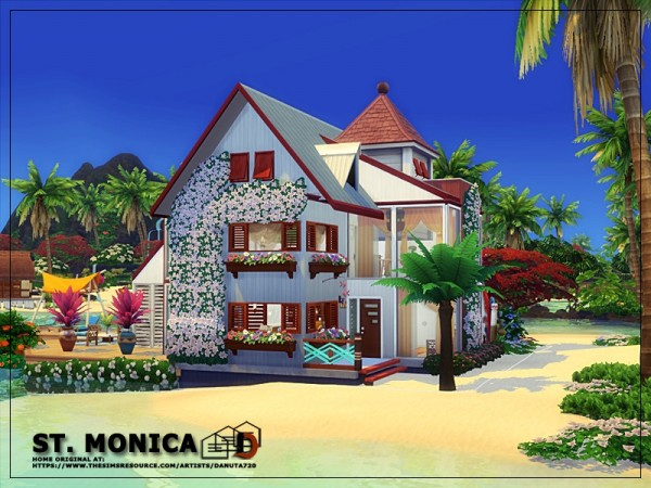 The Sims Resource: ST. Monica house by Danuta720