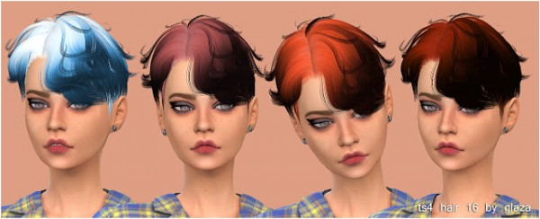 All by Glaza: Hair 16