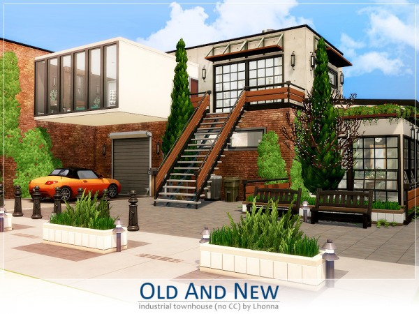 The Sims Resource: Old and New house by Lhonna