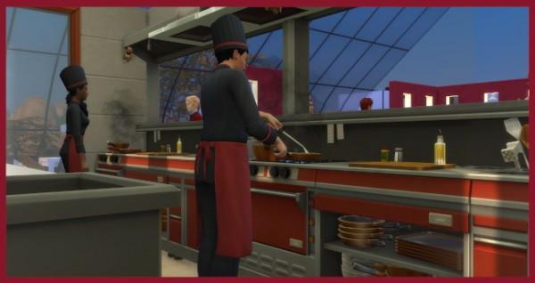 Blackys Sims 4 Zoo: FKK Restaurant by Kosmopolit