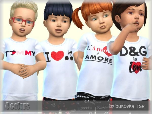 The Sims Resource: Shirts White by bukovka