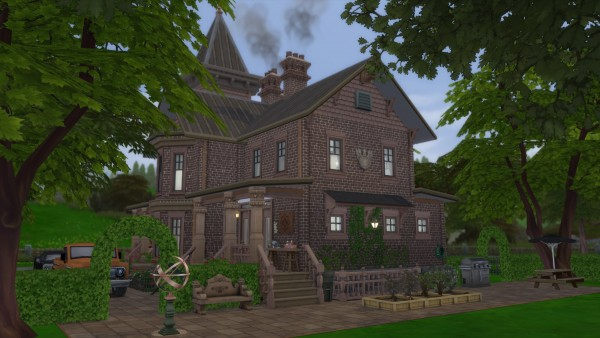 Mod The Sims: Groves Mansion by pollycranopolis