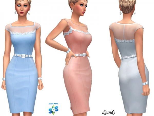 The Sims Resource: Dress 201908 03 by dgandy