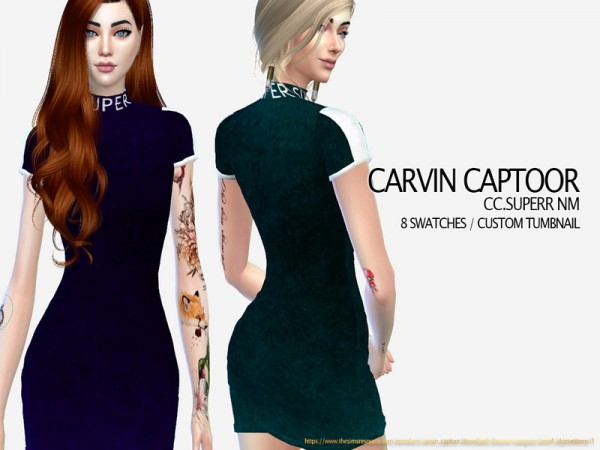 The Sims Resource: Superr NM by carvin captoor