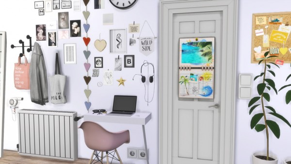 Models Sims 4: Teen Girl Bedroom