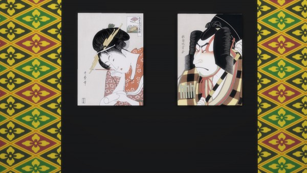 Mod The Sims: Japanese tradition Ukiyo e paintings by Feelshy