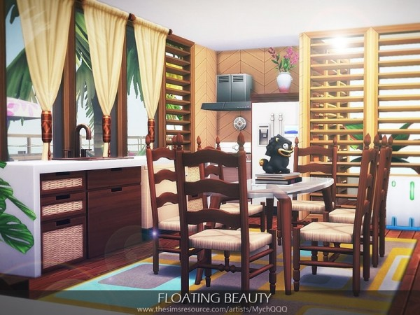 The Sims Resource: Floating Beauty house by MychQQQ