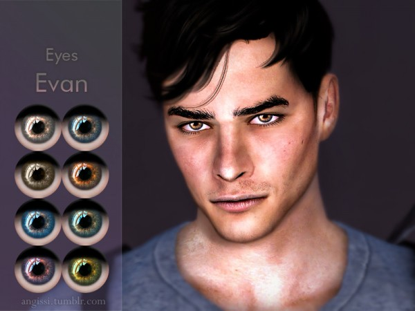 The Sims Resource: Eyes Evan by ANGISSI