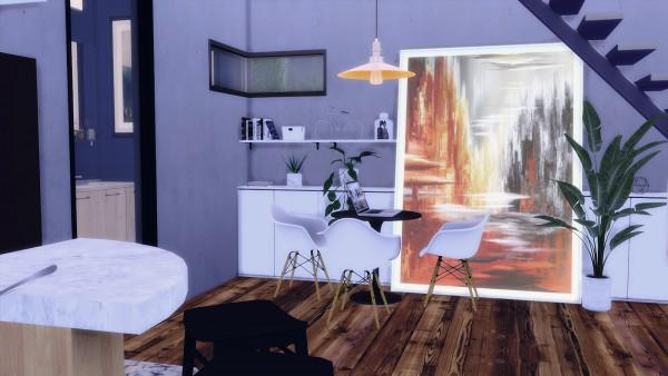 Ideassims4 art: 61 Aurora house