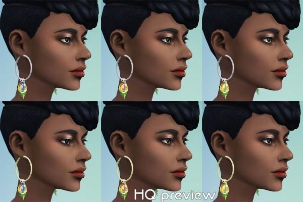 Sims Artists: GaHas Earrings