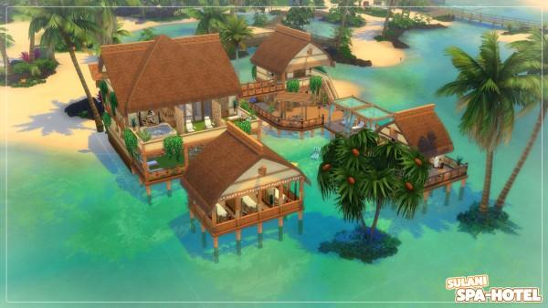 Mod The Sims: Sulani Spa Hotel   no CC by Axaba