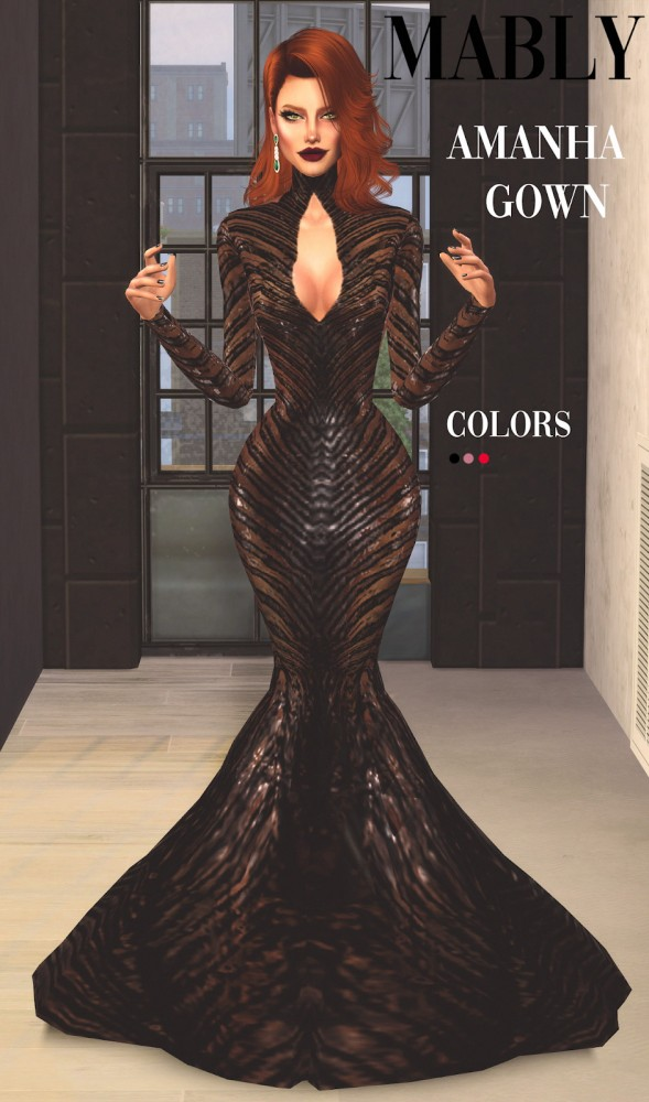 Mably Store: Amanha Gown