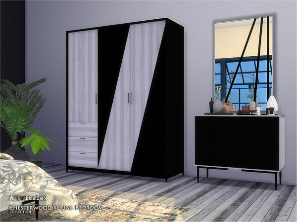 The Sims Resource: Chesterwood Young Bedroom by ArtVitalex
