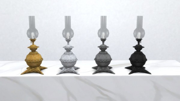 Mod The Sims: Traditional Gas Lamp by TheJim07