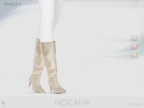 The Sims Resource: Madlen Nocana Boots by MJ95