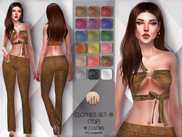 The Sims Resource: Clothes SET 18 top by busra tr
