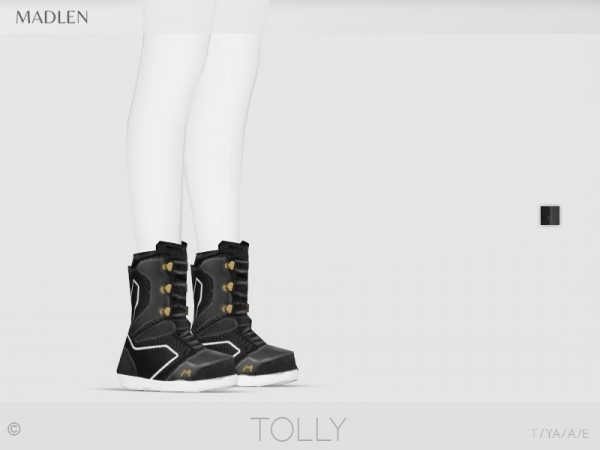 The Sims Resource: Madlen Tolly Boots by MJ95