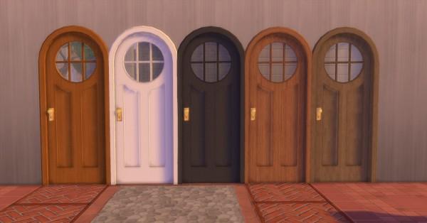 Mod The Sims: Arlette Door by AdonisPluto