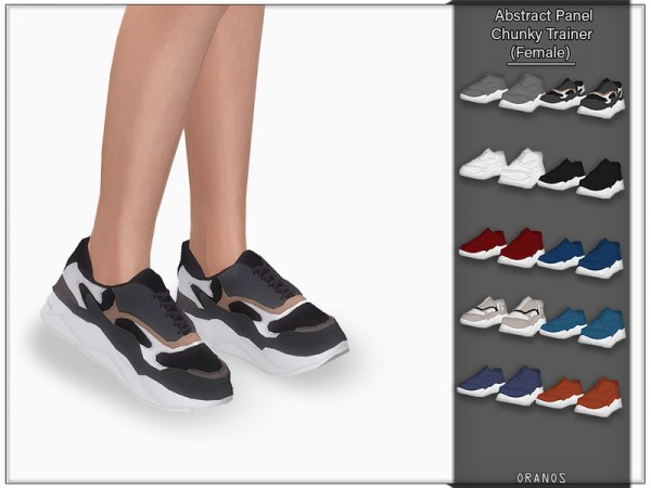 The Sims Resource: Abstract Panel Chunky Trainer for her by OranosTR