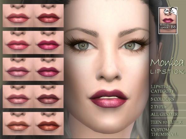 The Sims Resource: Monica lipstick by BAkalia