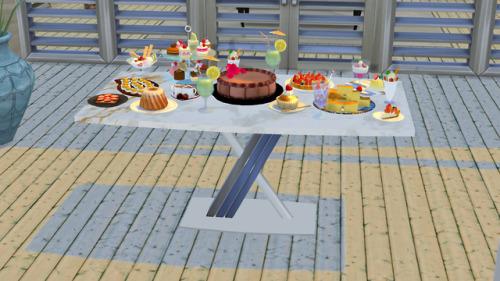 Simtographies: Aretta Dinner Table