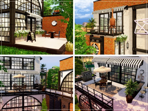The Sims Resource: Moschino Loft by Lhonna