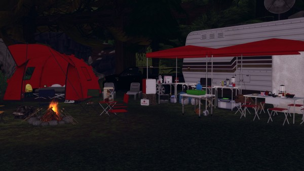 Ideassims4 art: 57 Lets go camping