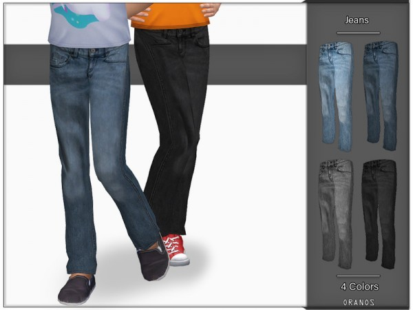The Sims Resource: Jeans by OranosTR
