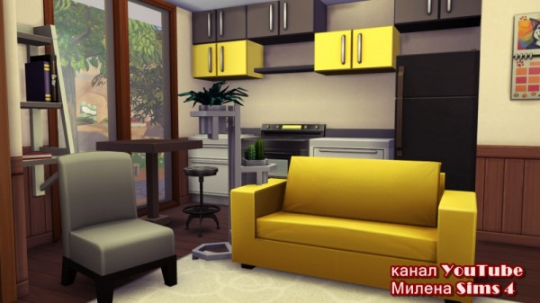 Sims 3 by Mulena: Starting house